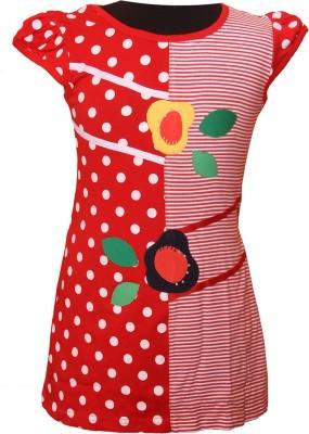 Little Star Girl's A-line Red Dress