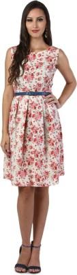 D & S Women's A-line Multicolor Dress