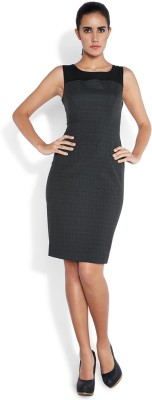 Park Avenue Women's Bandage Black Dress