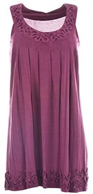 Pure Nautanki Women's A-line Brown Dress