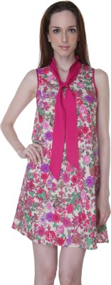 Rigoglioso Women's A-line Pink Dress