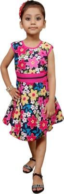 Little Stars Girl's A-line Pink Dress