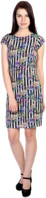 James Scot Women's Sheath Multicolor Dress