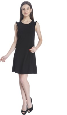Only Womens A-line Black Dress