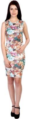 James Scot Women's Bandage Multicolor Dress