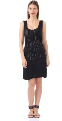 Only Womens Shift Black Dress