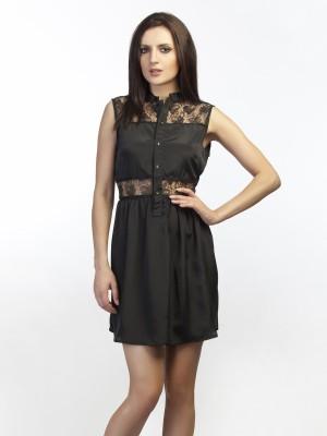 Schwof Women's A-line Black Dress