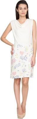 Golden Couture Women's A-line Multicolor Dress