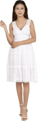 Maggie Women's A-line White Dress