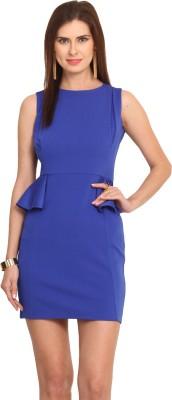 Leo Sansini Women's Shift Blue Dress