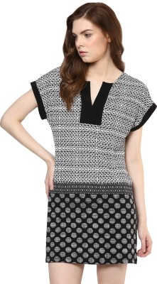 Avirate Women's A-line White Dress