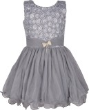Priyank Midi/Knee Length Party (Grey)