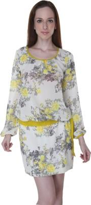 Rigoglioso Women's Bubble Yellow Dress