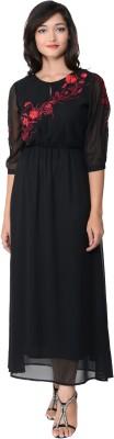 Juniper Women's Maxi Black Dress