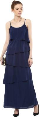 Rose Vanessa Women's Maxi Blue Dress