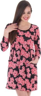 SS Women's A-line Pink Dress