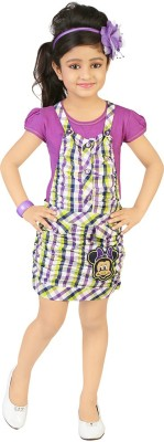 koolkids Girl's A-line Purple Dress