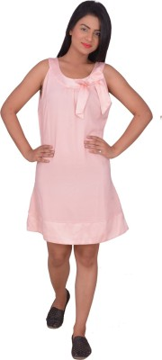 Prmesabh Women's A-line Pink Dress