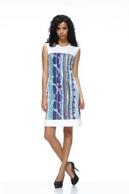 HANGNHOLD Women's A-line Multicolor Dress