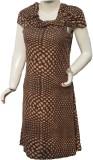 Polita Women's Bandage Brown, Beige Dres...