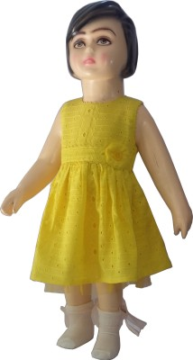 Bisbasta Baby Girl's A-line Yellow Dress