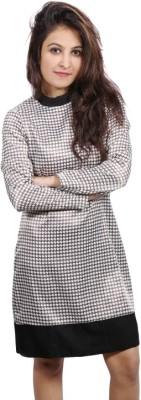 Fadjuice Women's Shift Black, White Dress