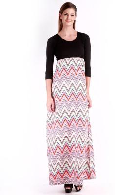 Change360 Women's Maxi Multicolor Dress
