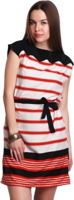 Belle Fille Women's Sheath Multicolor Dress