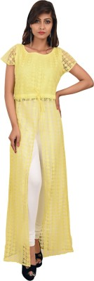 Leafe Women's Maxi Yellow Dress
