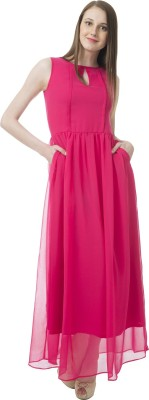 Lady Stark Women's Maxi Pink Dress