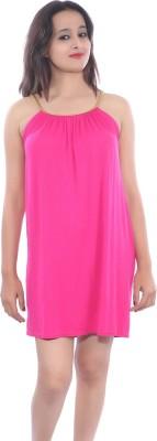 Mona Vora Women's Gathered Pink Dress