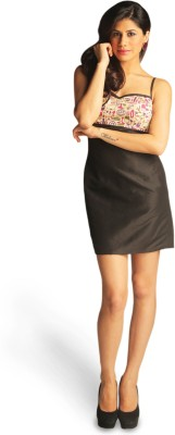 Idiot Theory Women's Bandage Black Dress