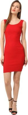 Vostro Moda Women's Shift Red Dress