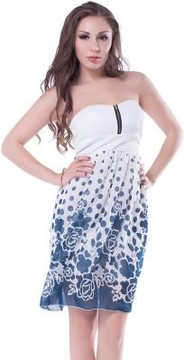 N-Gal Women's A-line White Dress