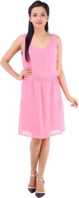 Inblue Fashions Women's Shift Pink Dress