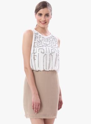 Vero Moda Women's Blouson White Dress