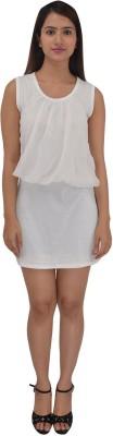 ZAYN M, Women's Bubble White Dress