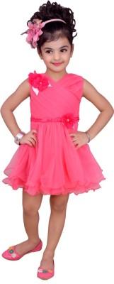 Kokoberry Baby Girl's Layered Pink Dress
