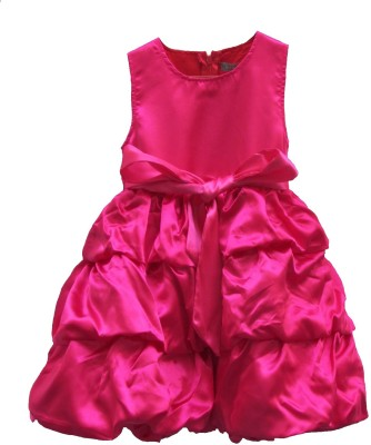 The Tickle Toe Girl's A-line Pink Dress
