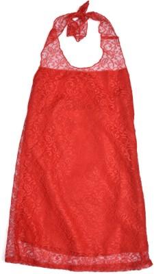 Yufta Girl,s Bandage Red Dress