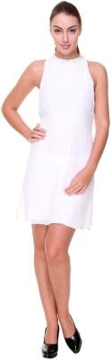 Amari West By INMARK Women's A-line White Dress