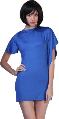 Fascinating Women's A-line Blue Dress