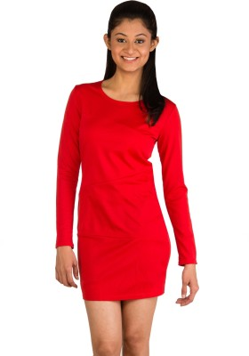 Modo Vivendi Women's Sheath Red Dress