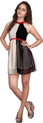 Viva N Diva Women's A-line Multicolor Dress
