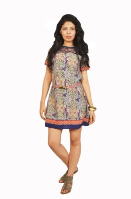 Isadora Women's Shift Multicolor Dress