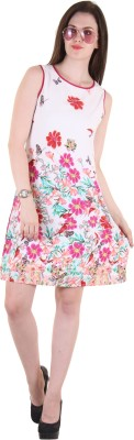 Hotberries Women,s Shift Pink Dress