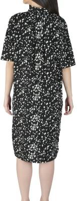 Isadora Women's Shift Black Dress