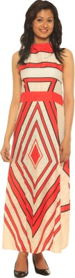 Modo Vivendi Women's Maxi Red Dress