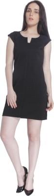 Vero Moda Womens Sheath Black Dress