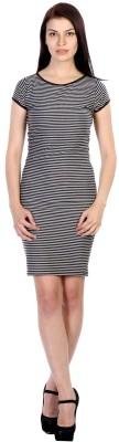 James Scot Women's Bandage Grey Dress